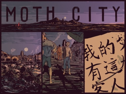 Moth City Webcomic Review