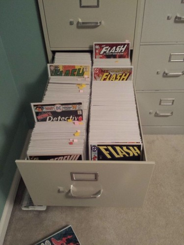 Setting Up Your Comics In Filing Cabinets The Comics Herald