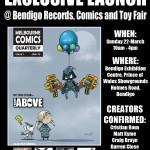 Bendigo Record, Comic and Toy Fair coming up